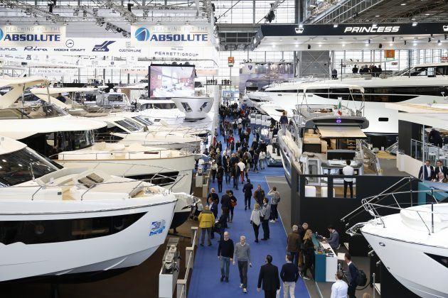 Boats at Dusseldorf Boat Show