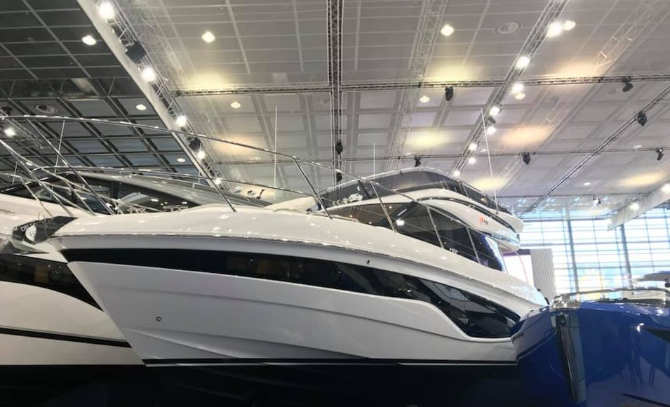 Princess F45 at Dusseldorf Boat Show