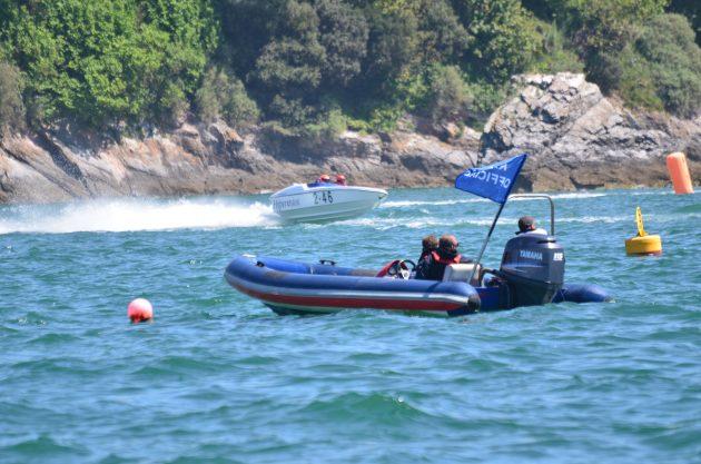 RIB at sea