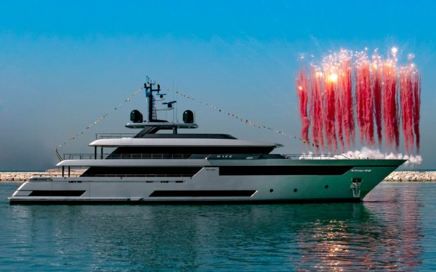 Biggest Riva Yacht To Date Launched In Ancona Motor Boat Yachting