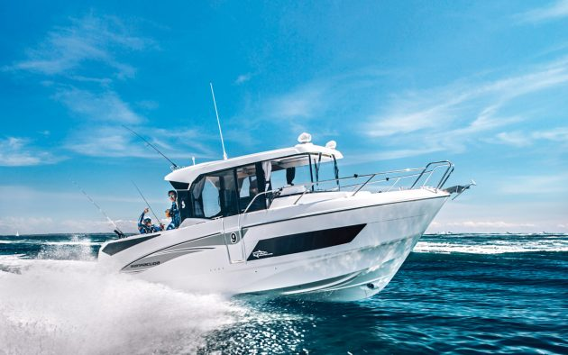 The Barracuda 9 achieved a top speed of 41.7 knots on test