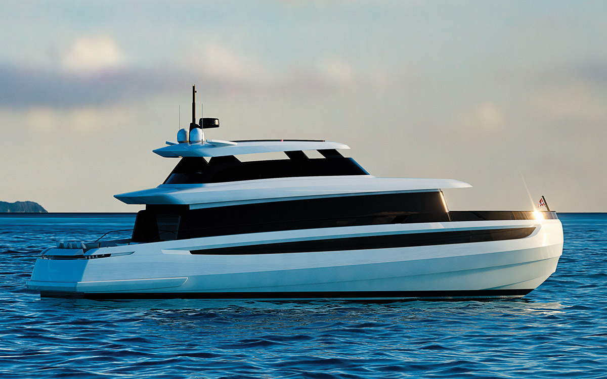 Welcome to the future: 5 futuristic yachts being built today