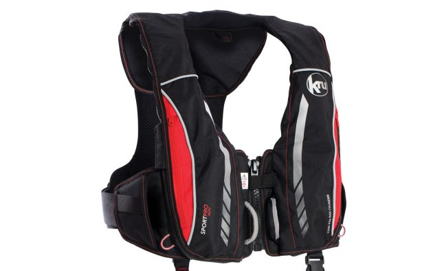 The latest Kru lifejacket is designed to be comfortable to wear and even safer