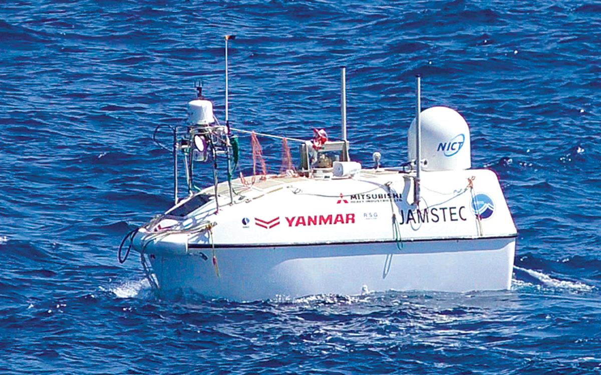 Yanmar-asv-auto-docking-Robotic-Boat