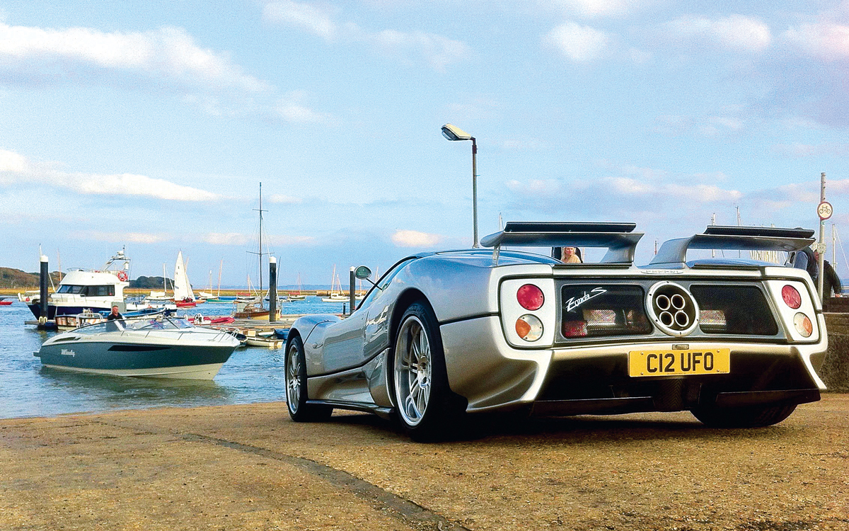 car-collector-boater-harry-metcalfe-Pagani-Zonda-Windy-Zonda