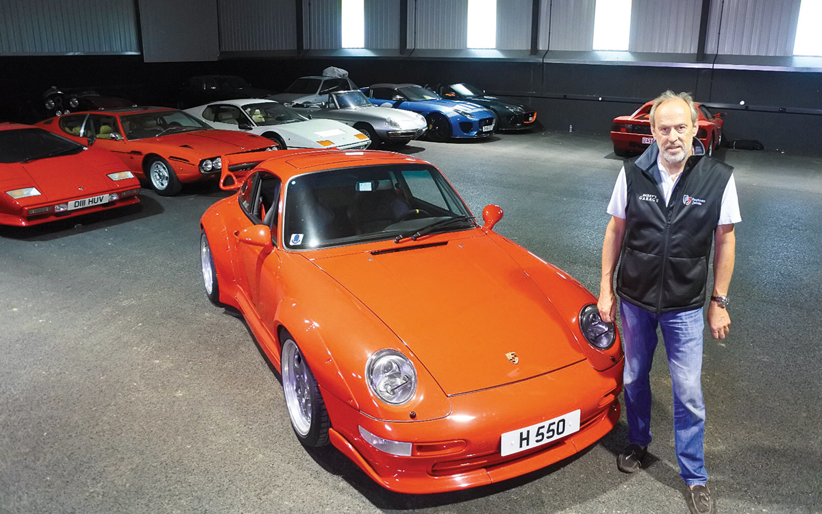 Harry Metcalfe My Other Passion Is My Car Collection Motor Boat