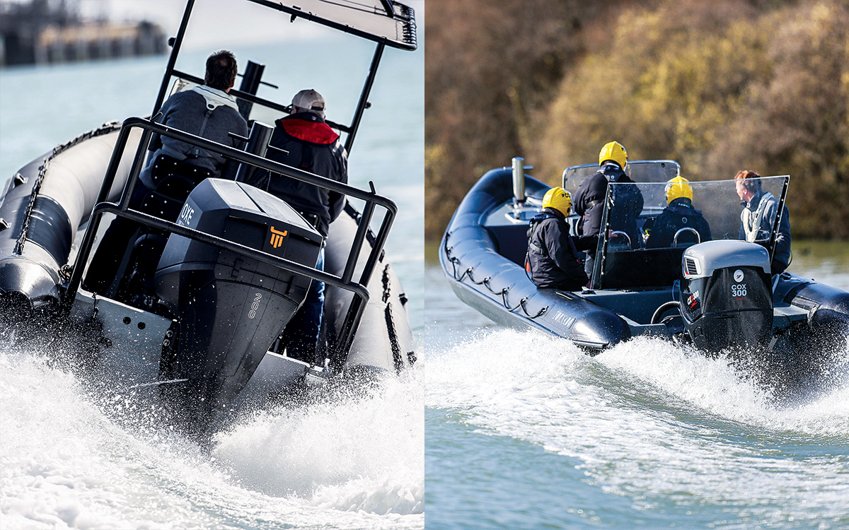 Cox CXO 300hp diesel outboard production plans and release