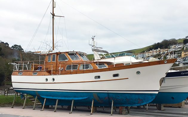 The Philips 50 is the very essence of a classic motor yacht