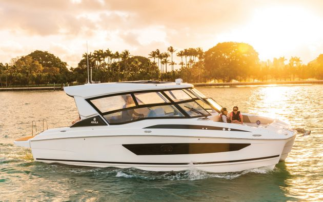 Aquila 32: Outboard powercat offers an intriguing left-field option