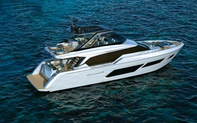 Clean, muscular lines are a hallmark of the Filippo  Salvetti exterior styling