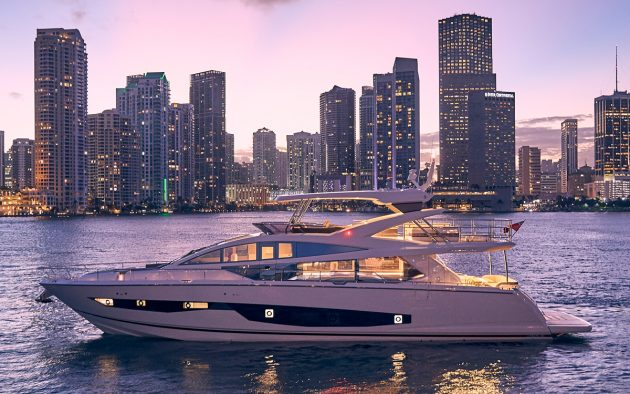 Pearl 80 review: Stylish British flybridge oozes Miami glamour and luxury