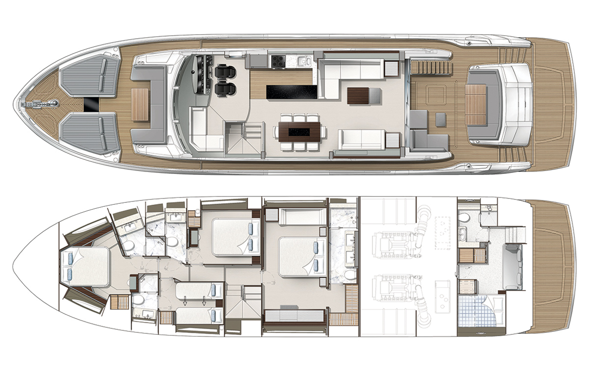 Sunseeker-76-yacht-review-layout