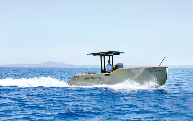 Like Tesla cars, X Shore only produces pure electric craft, all of which have a claimed top speed of at least 40 knots and a range of 100nm