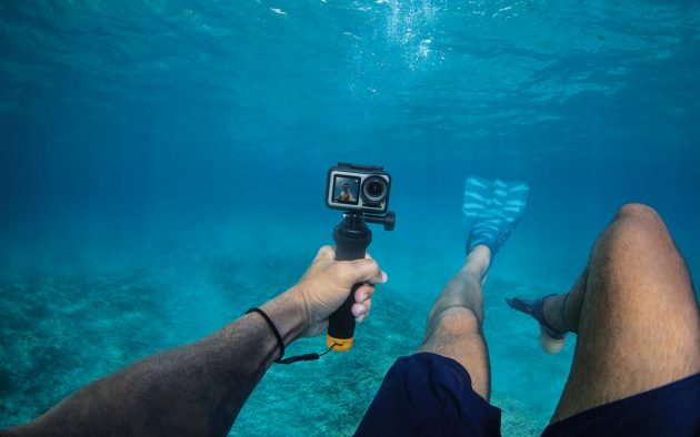 The Osmo Action can film depths of up to 11m