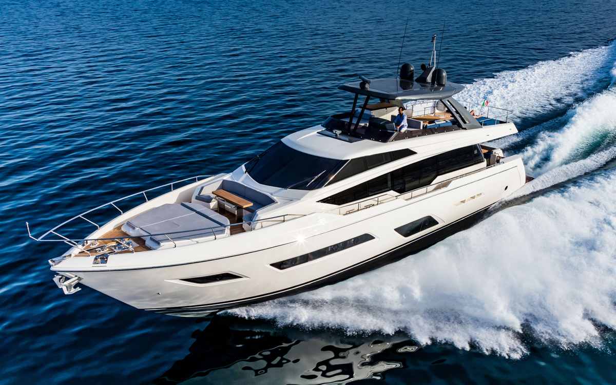 the best attitude 0f4c0 ba942 Ferretti 780: Acres of glass give this luxury yacht a window on the world