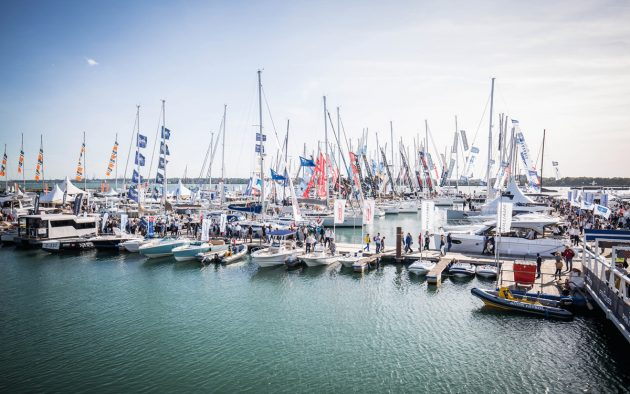 The centrepiece of the Southampton Boat Show is a purpose-built marina exhibiting hundreds of new boats