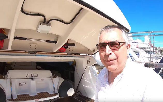 sunseeker-131-yacht-tour-zozo-selfie