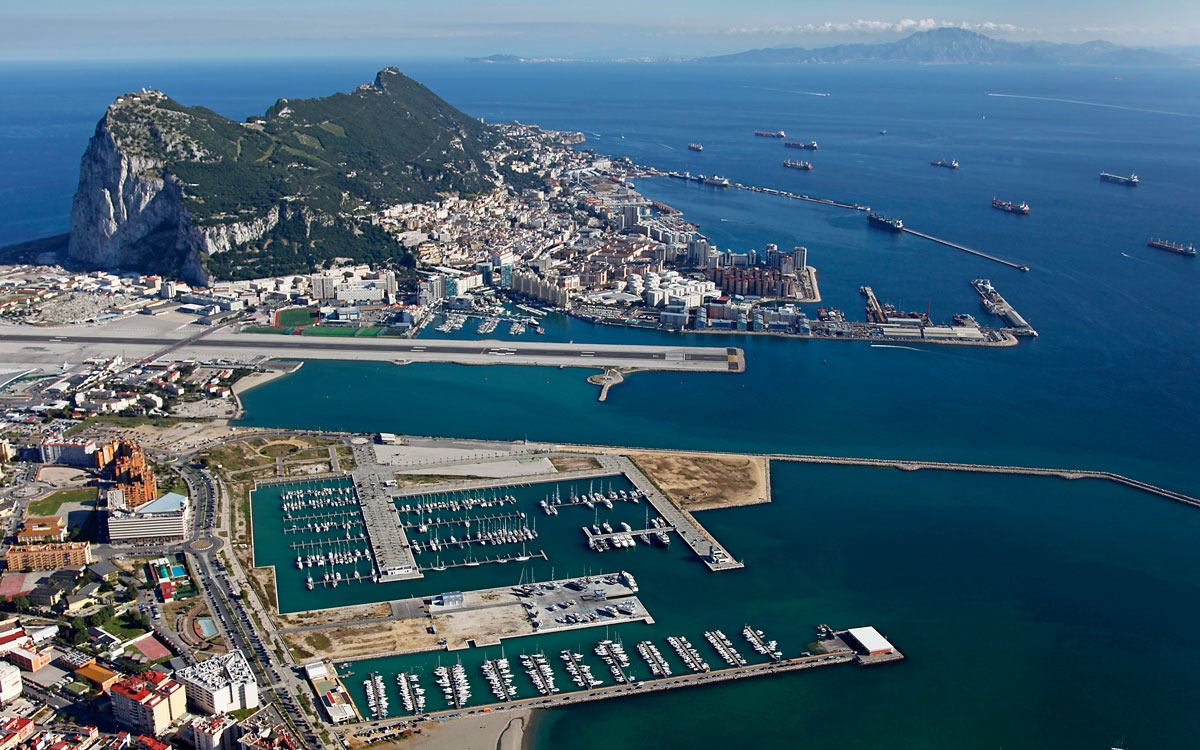 cruising-Gibraltar-Alcaidesa-Marina-aerial-view-credit-peter-cumberlidge
