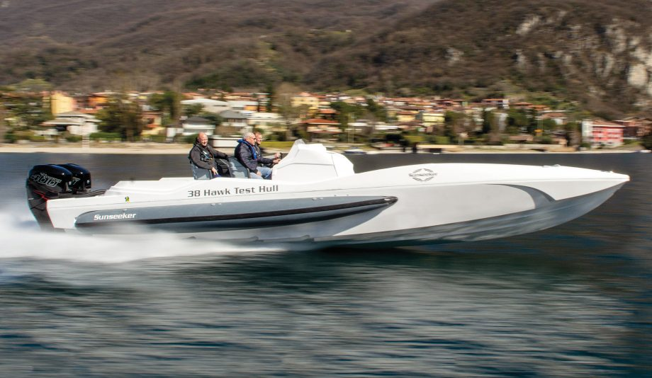 Sunseeker-Hawk-38-prototype-test-drive-fabio-buzzi-credit-matt-higham