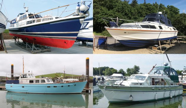 All four yachts we picked out are offered for sale for less than £100,000