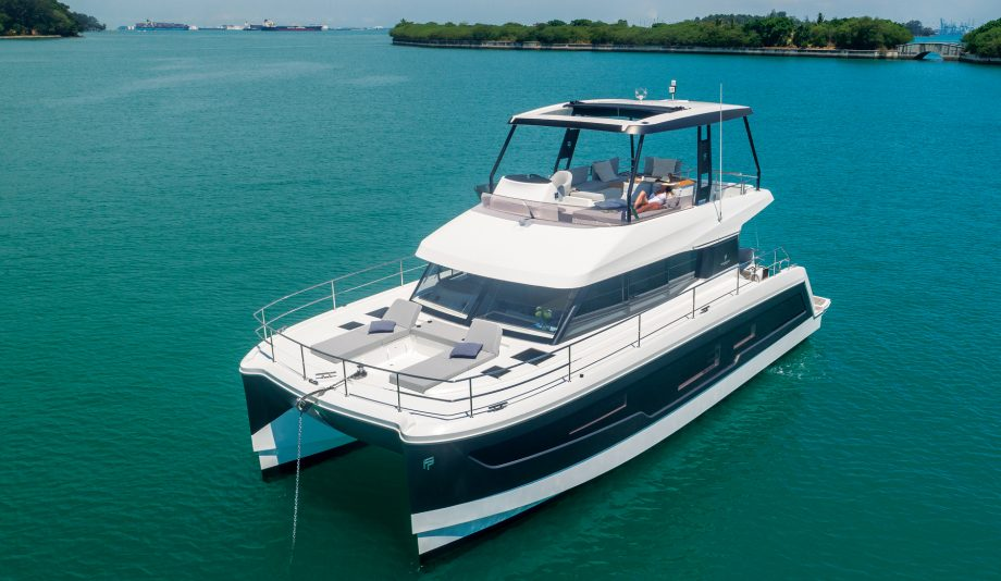 Fountaine-Pajot-MY40-power-catamaran-yacht-test-video-review