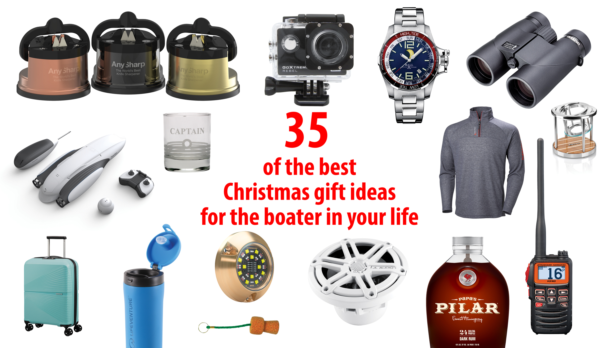 Christmas gift ideas for the boater