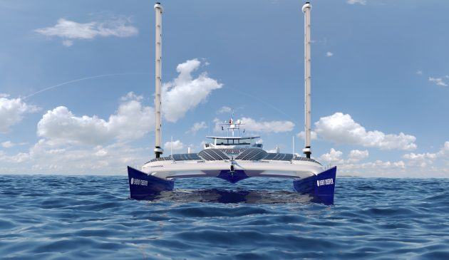 Energy-Observer-floating-laboratory-catamaran-video