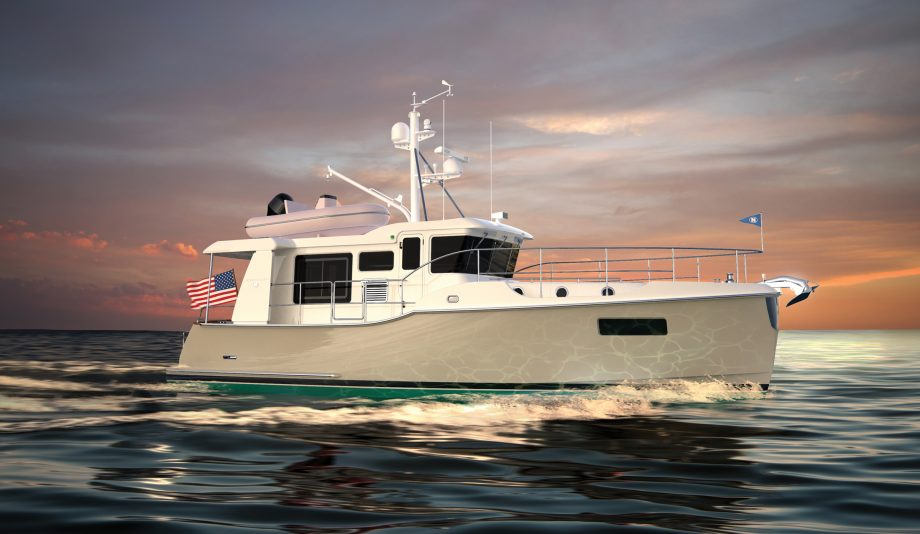 Nordhavn-41-yacht-exterior-dusseldorf-launch