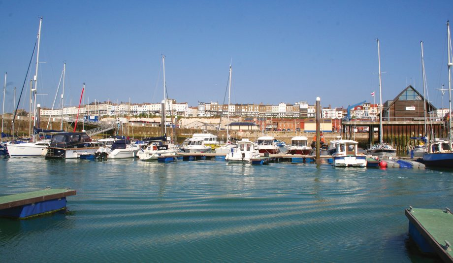 Rhea-Round-Britain-part-2-ramsgate-harbour