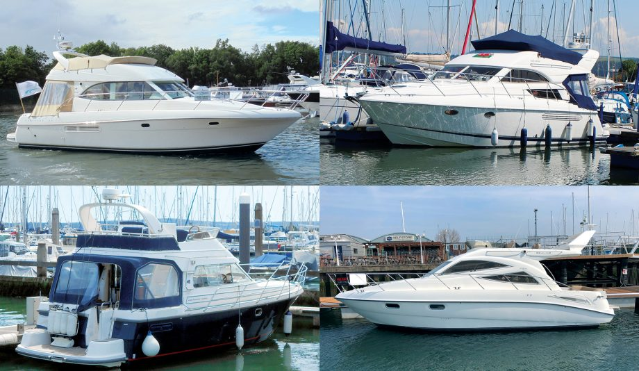 secondhand-boat-buyers-guide-sub-40ft-flybridge-collage