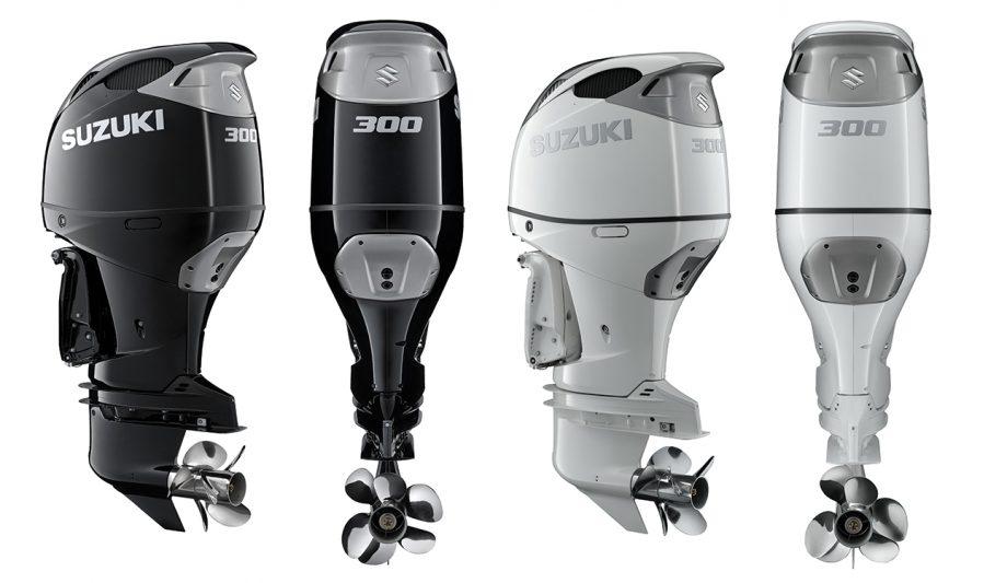 suzuki-300hp-outboard-black-white-cowling