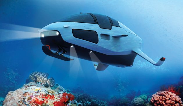 DeepSeaker-DS1-foiling-personal-submarine