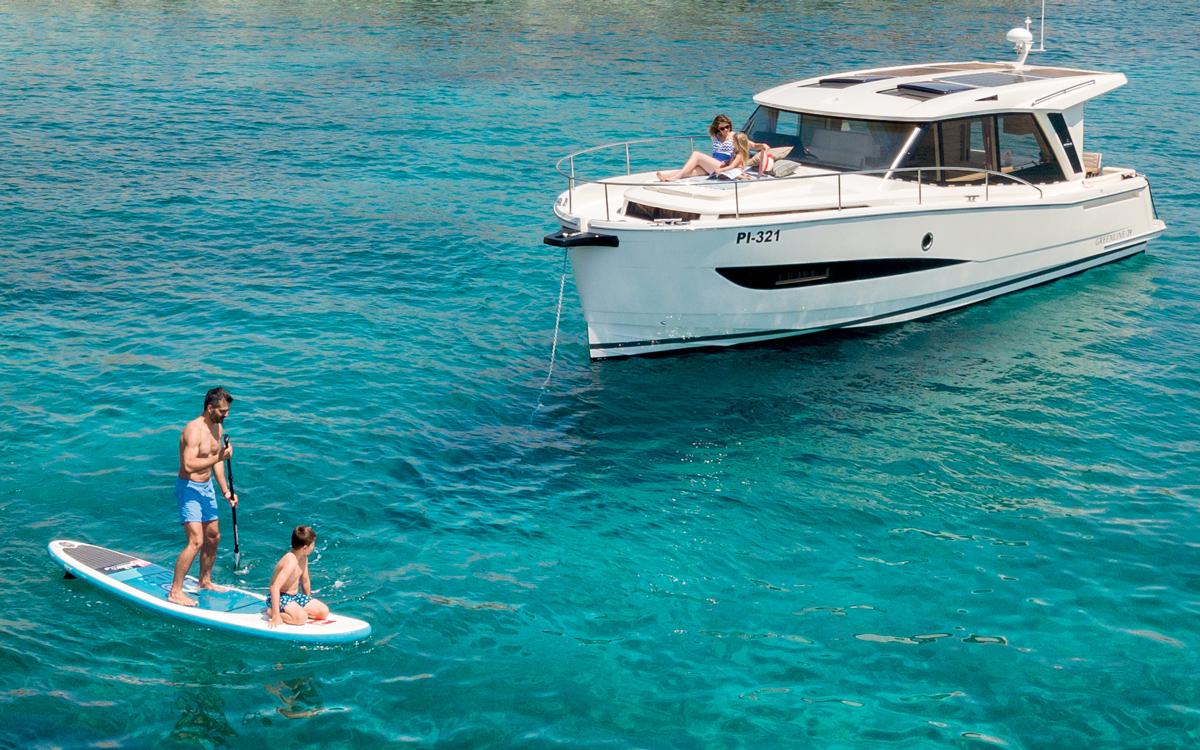 Les bateaux hybrides sont l'avenir de la croisière