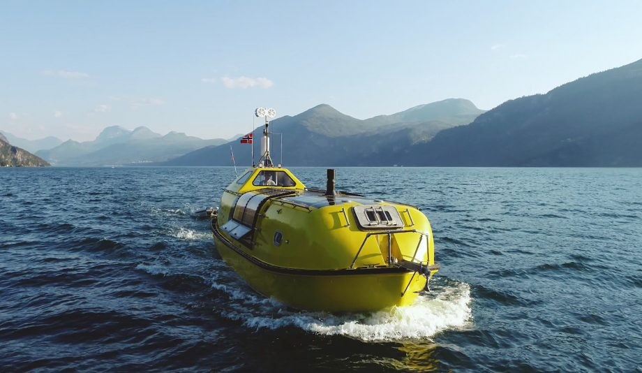 converted-lifeboat-cruising-norway-video