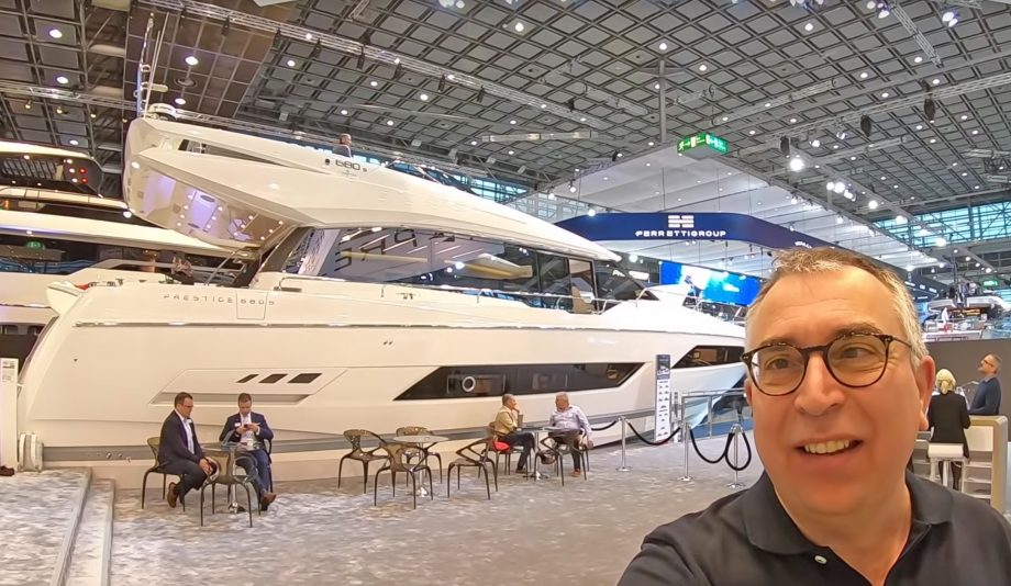 prestige-680s-yacht-tour-video-nick-burnham-selfie