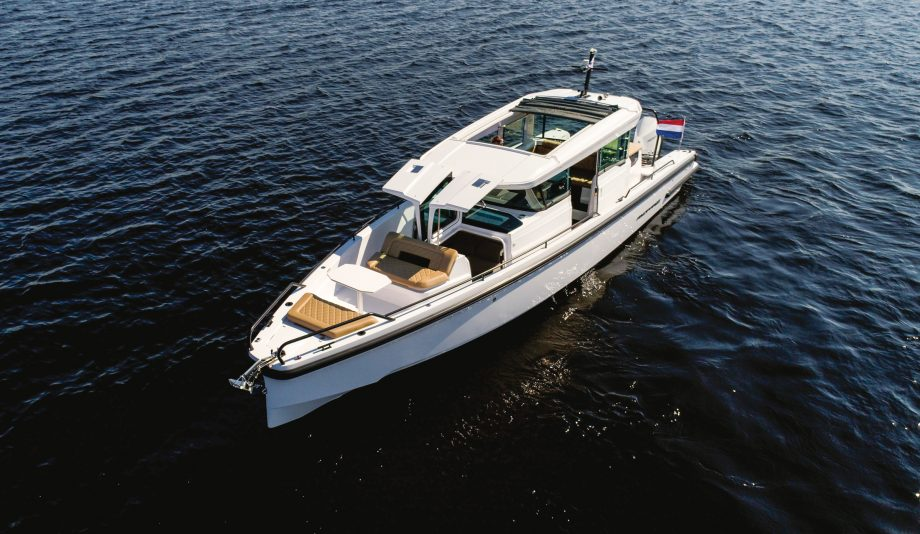 axopar-37-yacht-2020-version-review-aerial-view