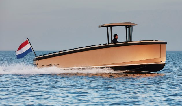 DutchCraft DC25 yacht tour: This all-electric tender boasts a modular layout