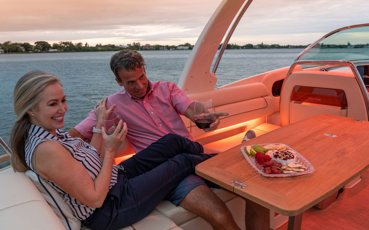 From dusk till dawn, Lumishore has your boat lighting needs covered