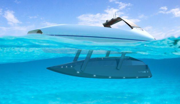 Platypus Swordfish: This semi-submersible yacht offers amazing underwater views