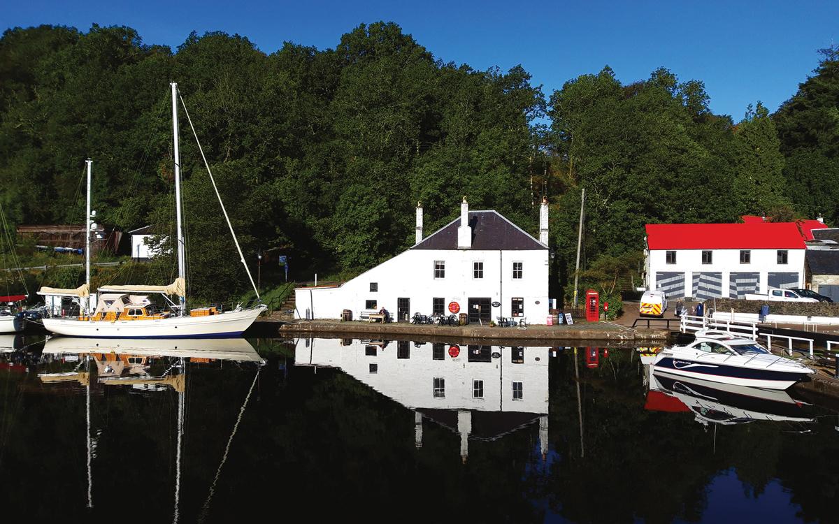cruising-shetland-finnmaster-76ca-Crinan-canal-credit-Andrew-Morton