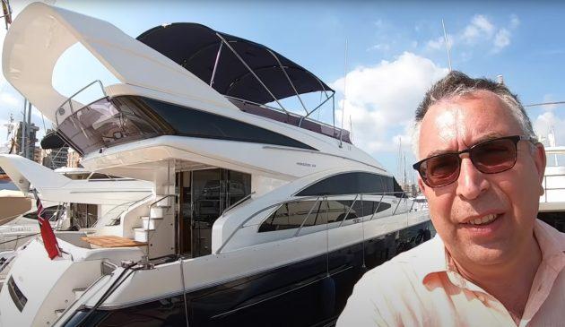 princess-64-yacht-quarters-tour-video-aquaholic