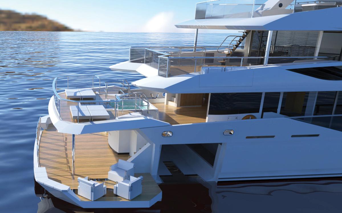 Nouveaux détails exclusifs du projet de superyacht révélés | Sunseeker 42M Ocean