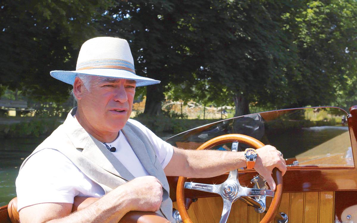 car-designer-frank-stephenson-boat-freebody-thames-slipper-launch-helm