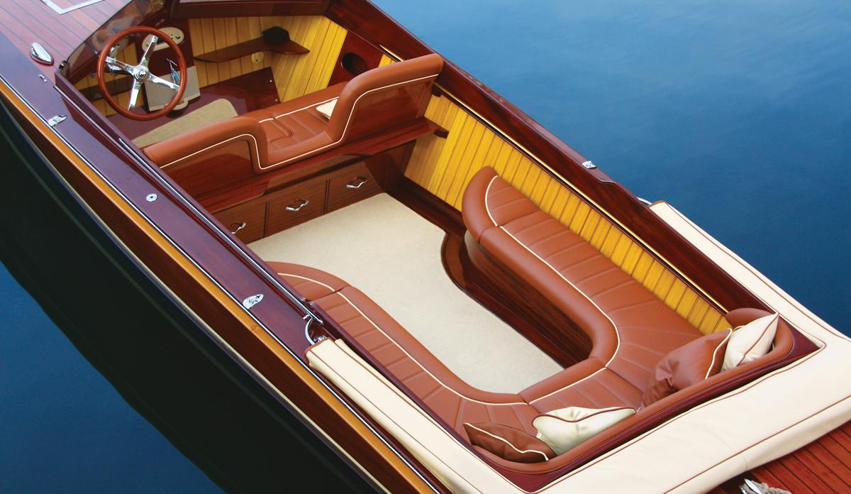 Ferrari designer explains why he prefers life in the slow lane on his Thames slipper