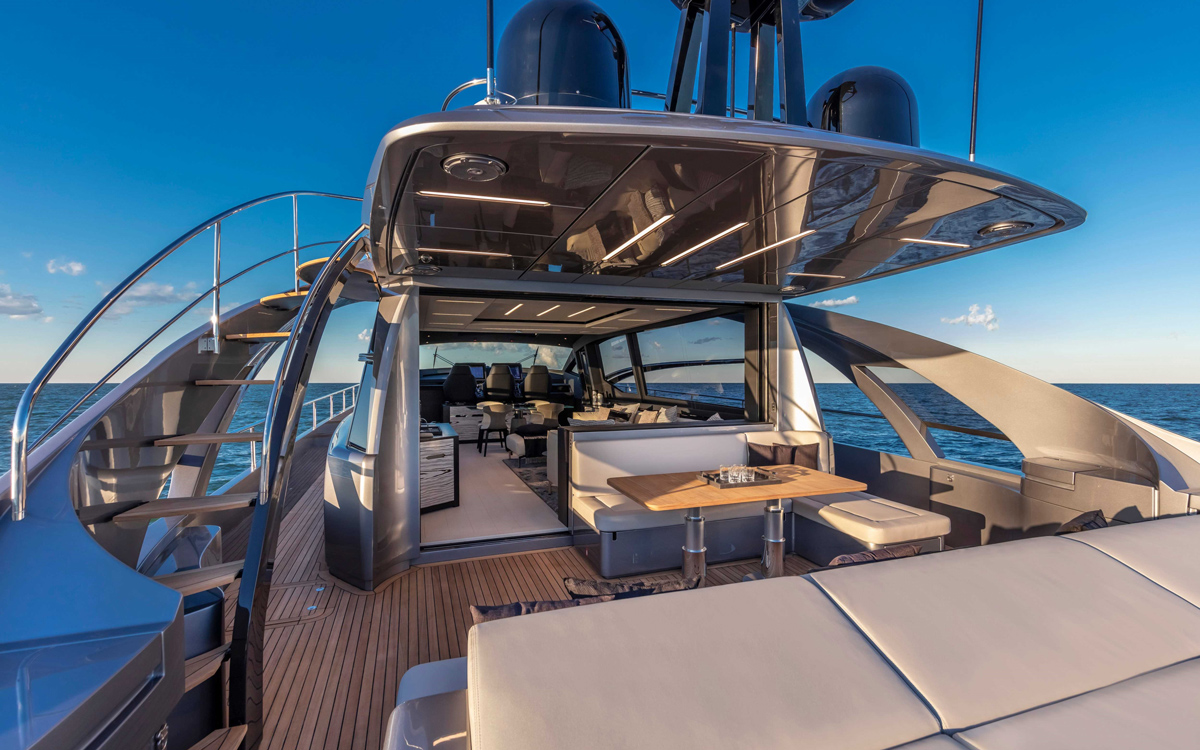Pershing-8X-yacht-test-review-cockpit-steps