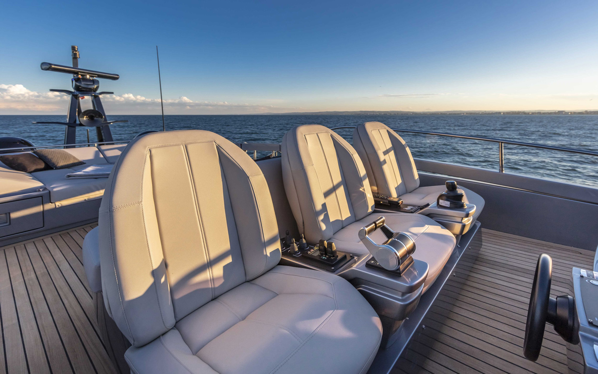 Pershing-8X-yacht-test-review-upper-helm