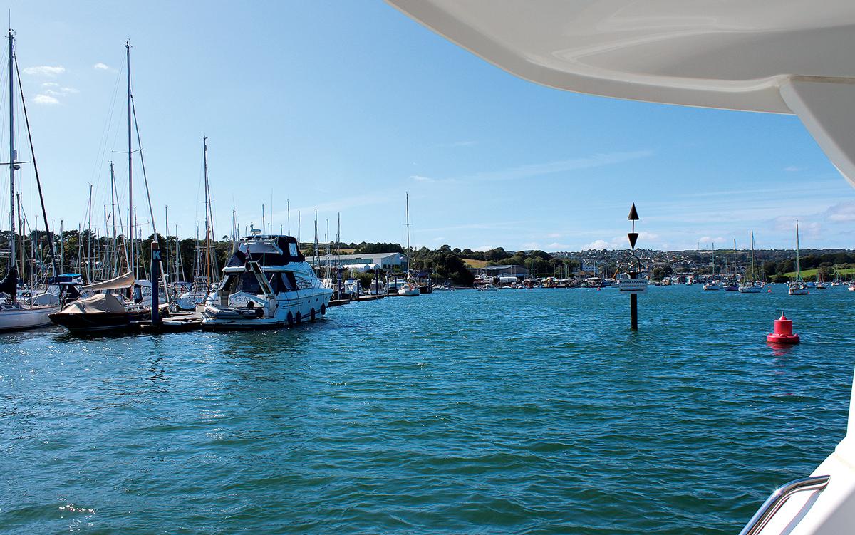 cruising-falmouth-cornwall-berths-Falmouth-Marina-buoyage