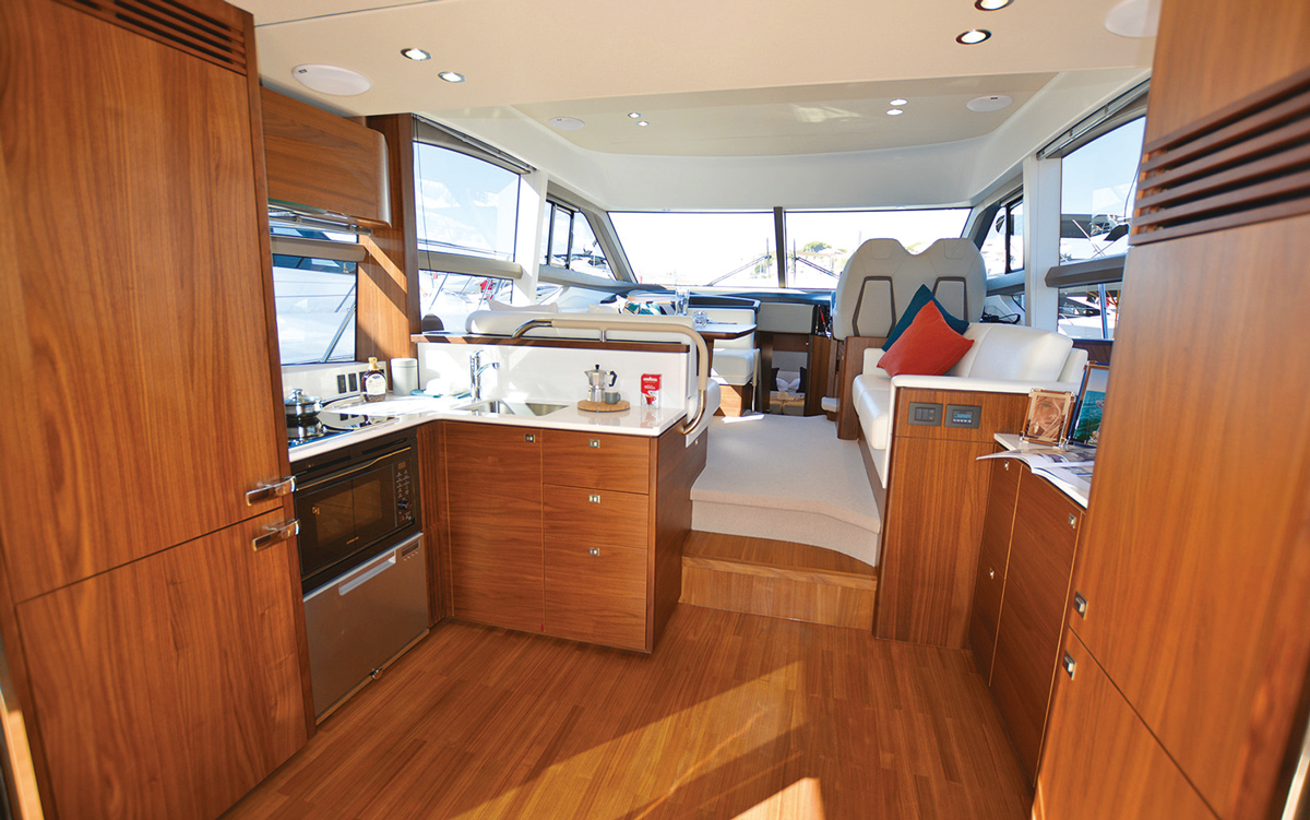 princess-f50-owners-yacht-buying-advice-galley