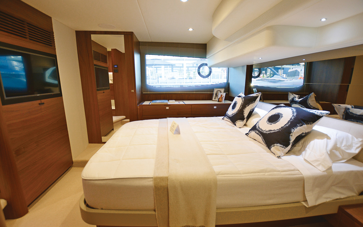 princess-f50-owners-yacht-buying-advice-master-cabin