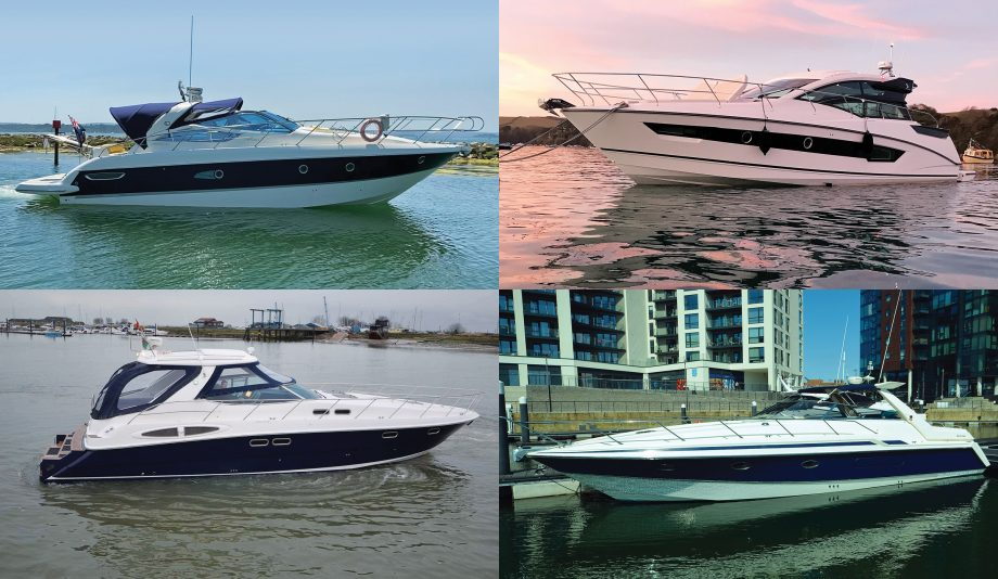 secondhand-boat-buyers-guide-45ft-sportscruisers-for-sale-exterior-collage